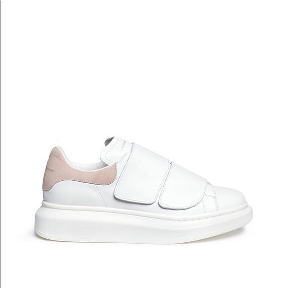 Preowned Alexander Mcqueen Velcro Shoes